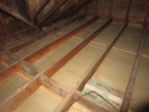 Attic is Air Sealed